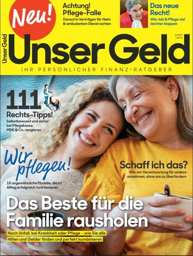 "Roularta Media startet Ratgeber-Magazin ""Unser Geld"""